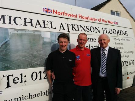 James, Michael and Maurice Atkinson from Michael Atkinson Flooring